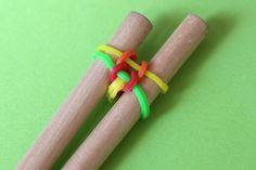 Un autre bracelet à élastiques sans métier à tisser | La cabane à idées