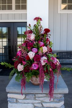 Venue: The Sycamore Winery Photography: McCamera Photography Floral: Baesler's Front Entrances, Flower Arrangements, Christmas Wreaths, Weddings, Holiday Decor, Floral, Flowers, Photography, Home Decor