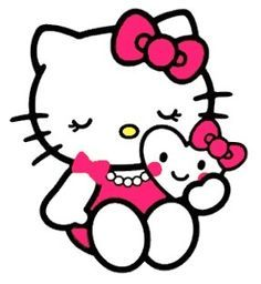 hello kitty crafty clipart - Google Search