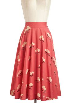 One of the rare modest modcloth skirts! So gorgeous!