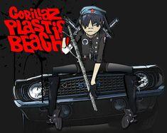 Gorillaz Plastic Beach by BonesNuSkool on DeviantArt Gorillaz Plastic Beach, Good Music, My Music, Jamie Hewlett Art, Damon Albarn, Imagine Dragons, A Cartoon, Cool Art, Awesome Art