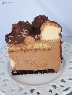 Mousse Cake, Something Sweet, Tiramisu, Cake Recipes, Biscuits, Caramel, Cheesecake, Food And Drink, Ice Cream