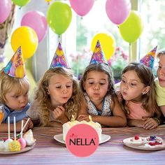 Party time! Check out our latest blog post for ideas for your party!  #missnella #kidsnailpolish #fashionistas #children #birthday #birthdaymonth #celebration