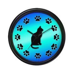 Cat Clock Wall Clock