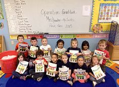 """Day School Children Enjoy """"Operation Gratitude"""": Students in Mrs. Knowlton and Mrs. Smith pre-k 4 class collected then donated nearly 30 pounds of their hard-earned Halloween candy to deployed soldiers with the help of the Operation Gratitude Halloween Candy Program.  The class made care packages that included candy, a class thank you letter to the troops for their dedication and bravery and pictures and drawings made by the kids."""