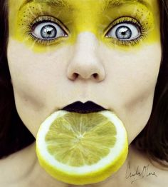 Future makeup challenge? Use a color in a crazy way! I like it (mad hatter style)