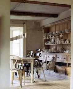 unfitted kitchens on pinterest larder cupboard painted cabinets and traditional kitchens. Black Bedroom Furniture Sets. Home Design Ideas