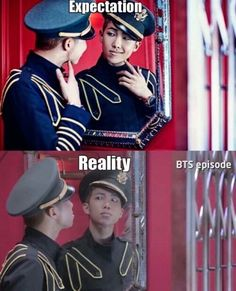 [BTS meme] Rapmon   Somehow I like the reality...   Just meme, laugh and don't take it seriously. Check Dope MV!