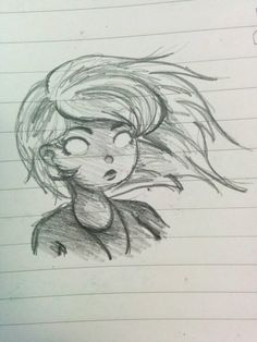 Although just a quick sketch, this is one of my favourite drawings that captures her well as a character.