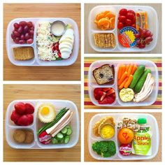 A week of lunch boxes. Healthy School Lunches, Healthy Snacks, Healthy Recipes, Lunch Snacks, Lunch Kids, Kindergarten Lunch, Prepped Lunches, Health Eating, Clean Recipes