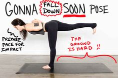 Instead of Warrior III... | 11 Slightly More Accurate Names For Yoga Poses