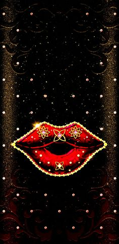 Lip Wallpaper, Wallpaper Pictures, Wallpaper Backgrounds, Heart Background, Kisses, Lips, Phone, Movie Posters, Beauty