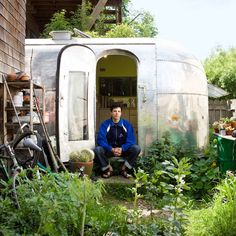 Step inside an Airstream home - Home in an Airstream Trailer - Sunset