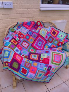 Ravelry: murphylulu's Babette Blanket