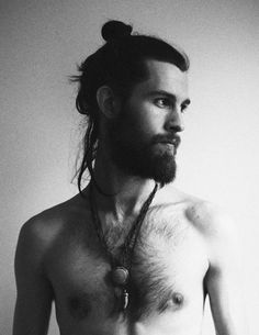 This shirtless god | Community Post: 20 Man Buns That Will Ruin You For Short-Haired Guys