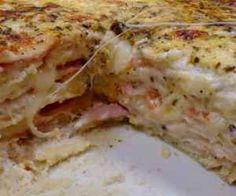 Receita de sanduíche cremoso de forno com queijo - Show de Receitas