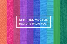 10 Hi-Res Vector Texture Pack: Vol 1 by Terry's Treasures on Creative Market