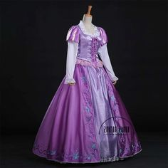 OSHARE Princess Costume Adult Women Deluxe Halloween Cosplay Outfit Fancy Dress Purple XL >>> Proceed to the product at the picture link. (This is an affiliate link). Rapunzel Halloween Costume, Rapunzel Cosplay, Rapunzel Dress, Princess Rapunzel, Tangled Rapunzel, Princess Dresses, Halloween Cosplay, Halloween Party, Halloween Costumes