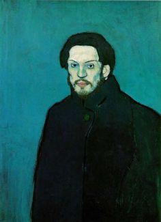 Pablo Picasso    1901,  óleo sobre lienzo