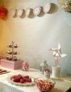 Candy Bar de Bautizo