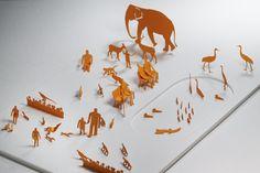 1/100建築模型用添景セット No.4 動物園編
