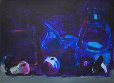 Original Painting    MOONLIT NIGHT  Still by ARTGALERYPAINTING, $300.00
