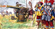 French Field Artillery, Thirty Years War Military Art, Military History, Irish Images, Medieval, Thirty Years' War, Religion, French Army, Inspirational Artwork, Modern Warfare