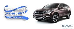 Don't miss the take home a CR-V event going on now at Russ Darrow Honda