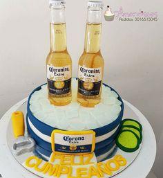 Torta Cerveza Corona Ideas De Cocina Pinterest Cake