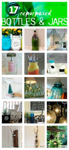 Repurposed Bottle an