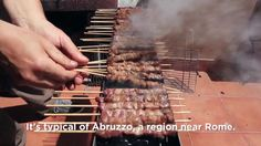 How to Make Arrosticini -- Grilling Around The World, Italy Edition on thescene.com