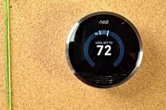 Nest beautiful learning thermostat