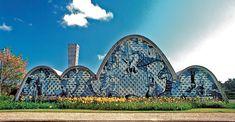 Igreja de São Francisco de Assis na Pampulha (Church of Saint Francis of Assisi) obra de Oscar Niemeyer em Belo Horizonte, Brasil