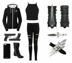 Thana Altessa Flemming - Klaus/Elijah/Kol Love Story - D - Trend Femininer Stil 2019 Bad Girl Outfits, Emo Outfits, Teen Fashion Outfits, Cosplay Outfits, Cute Casual Outfits, Outfits For Teens, Nerd Fashion, Punk Fashion, Lolita Fashion