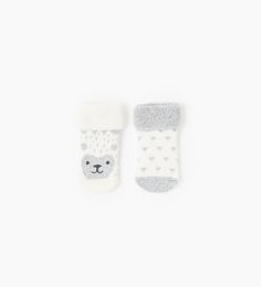 Image 1 of Pack of two pairs of terrycloth socks from Zara