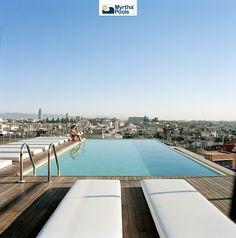 Barcelona swimming pool