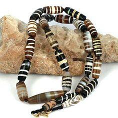 SKJ ancient bead art | item description | dzicollection8