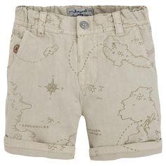 Pantalón bermuda estampada Neutros - Mayoral