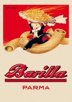 Barilla - Vintage art