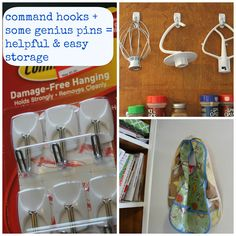 Easy Fixes: 2 Hits and a Miss Command Hooks, Success And Failure, Caption, Sisters, Kitchen, Easy, Cooking, Kitchens, Captions