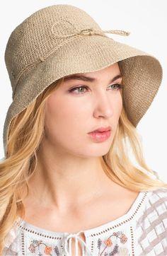 Helen Kaminski  Provence 10  Packable Raffia Hat  256a50a6af36