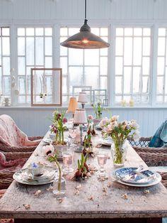 DESDE MY VENTANA: Inspiración Primaveral para la Mesa / Spring Tablescape Inspiration