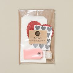 Valentine Treat Kit in House+Home HOME DÉCOR Desk+Craft Cards+Wrapping at Terrain