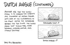 Dutch angle: feeling of unease, more dynamic. Animation Storyboard, Storyboard Artist, Animation Reference, Drawing Reference, Dutch Angle, Comic Tutorial, Comic Layout, Art Basics, Animation Tutorial