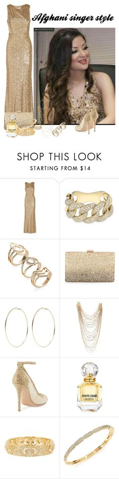 """""""Women's Style"""" by amidjanswife45 ❤ liked on Polyvore featuring Badgley Mischka, Anne Sisteron, Neiman Marcus, Kenneth Jay Lane, Lydell NYC, Gianvito Rossi, Roberto Cavalli, Nadri and Adriana Orsini"""