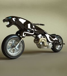 I would kill to own this.  Jaguar 'Leaper' motorbike.  Photo gallery - Autoblog.