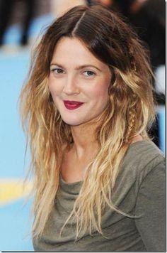 Drew Barrymore - hair