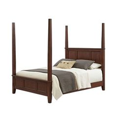 Chesapeake Cherry King Poster Bed
