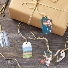 Add some sparkle to your Christmas gifts this year with these unique photo tags. Check out Avery.com for ideas and free templates. Diy Christmas Presents, Holiday Gift Tags, Christmas Gifts For Friends, Christmas Gift Wrapping, Christmas Tag, Holiday Crafts, Xmas Gifts, Diy Gift Baskets, Gifts For An Artist