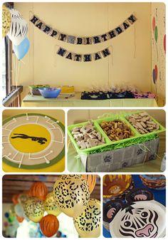 Wild Kratts Birthday Party!